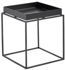Zwarte HAY - Tray Table 30 x 30 cm Black (102501) /Bedroom/Living room