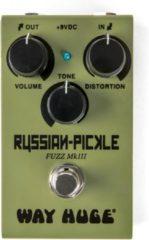 Way Huge WM42 Smalls Russian Pickle analoog fuzz effectpedaal