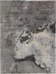 Antraciet-grijze MOMO Rugs - Seduction 840232 Vloerkleed - 170x240 cm - Rechthoekig - Laagpolig Tapijt - Industrieel - Antraciet, Grijs