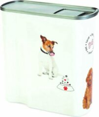 Curver Voedselcontainer Hond Wit 6 liter