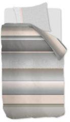 Grijze Kardol & Verstraten Kardol Cosentino Dekbedovertrek - 1-persoons (140x200/220 Cm + 1 Sloop) - Katoen Satijn - Grey