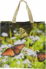 Esschert Design Boodschappentas Vlinders 23 Liter Polyester