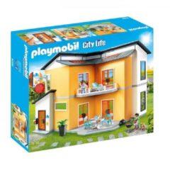 Rode Playmobil City Life 9266 Zwart, Rood, Wit, Geel poppenhuis