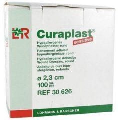 Beige Lohmann&Rauscher L & R Curaplast Sens.round 2.3cm + 100 Pcs
