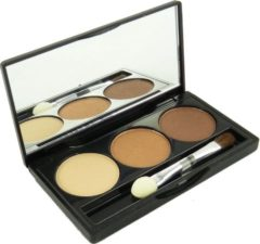 Jean Marcel Jean D'Arcel brillant Eye Shadow Trio Oogschaduw Pallette Oogmake-up 3x1.5g - 4 beige brown / beige braun