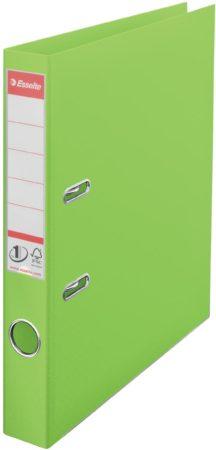 Afbeelding van Groene Esselte No.1 VIVIDA Lever Arch File PP, groen (624073)
