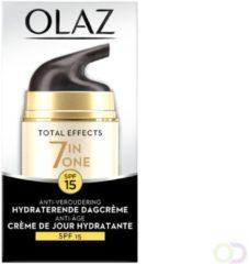 Olaz Total Effects Dagcreme Normaal Pompflacon Factorspf15 Voordeelverpakking
