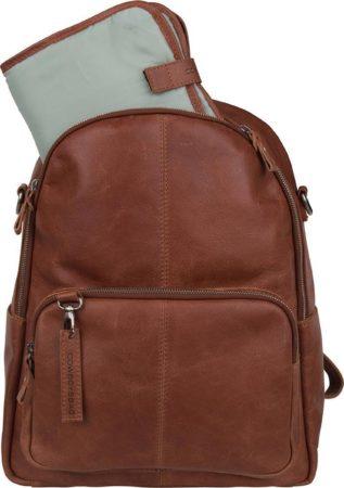 Afbeelding van Cowboysbag Luiertas Diaper Backpack Oburn Bruin