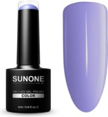 SUNONE UV/LED Hybrid Gel Paarse Nagellak 5ml. - F02 Fabia