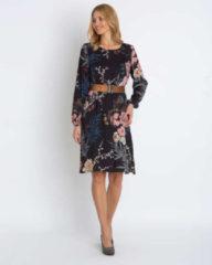 Marcel Ostertag Kleid mit Blumendruck