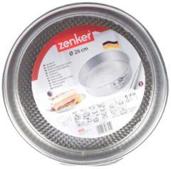Zilveren Discountershop Zenker Springvorm met Antiaanbaklaag - Ø 26 cm
