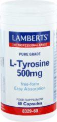 Lamberts L-Tyrosine 500 mg 60 capsules