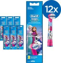 Oral-B Power Oral-B Disney Frozen Opzetborstels - Voordeelverpakking - 12 stuks