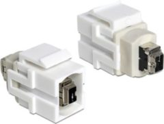 DeLOCK Keystone-Modul Keystone Modul FW 4 Pin Buchse > FW 4 Pin Buchse