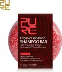 PURC Organic Kaneel Shampoo Bar 60g - vegan en geen chemicalen