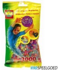 SES Creative strijkkralen glitter - 3000 stukjes
