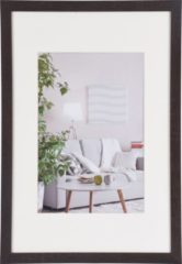 Donkerbruine Henzo Modern - Fotolijst - 30x45 cm - Fotoformaat 30x45 / 20x30 cm - Donker Bruin