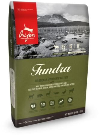 Afbeelding van Orijen Whole Prey Tundra Cat Geit&Zwijn - Kattenvoer - 340 g