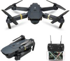 Zwarte Eachine E58 WiFi FPV Drone met extra accu (HD 720p camera en Smartphone besturing)