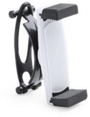 Merkloos / Sans marque Smartphone houder / telefoonhouder universeel voor fiets / kinderwagen / hometrainer - Wit