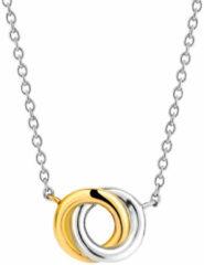 Ti Sento Milano TI SENTO - Milano 3915SY Collier met hanger zilver- en goudkleurig