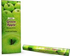G.R GR groen Apple Hexa wierookstokjes