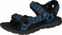 Hannah Sandalen Feet Unisex Eva/polyester Zwart/blauw Maat 44