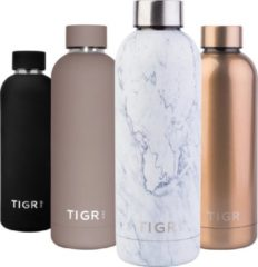 TIGR Thermosfles in Roestvrij Staal RVS - Drinkfles - 500ML - Marmer