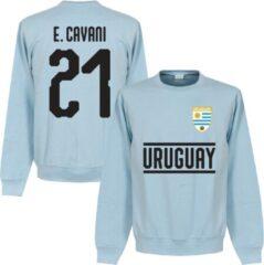 Lichtblauwe Retake Uruguay Cavani 21 Team Sweater - Licht Blauw - M