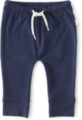 Marineblauwe Little Label - baby - broekje - donkerblauw - maat 50 - bio-katoen