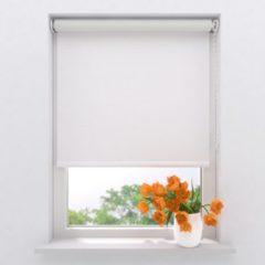 Gebroken-witte Raamdecoratie.com Rolgordijn Easy Verduisterend Off White 130 x 275 cm
