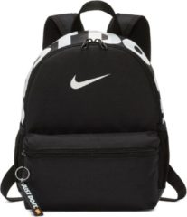 Nike brasilia just do it mini rugzak zwart/wit kinderen