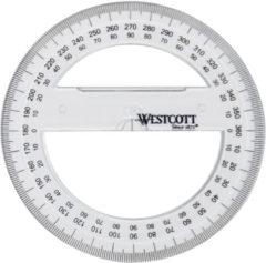 WESTCOTT Winkelmesser Vollkreis 360 Grad, 100 mm