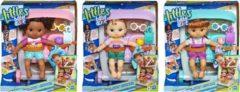 Hasbro Littles by Baby Alive Stroller Brunette - babypop met kinderwagen