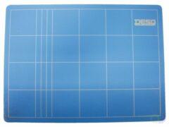 Blauwe Huismerk Snijmat A5 190x230mm Desq Blauw