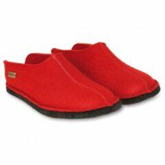 Haflinger - Smily - Hutpantoffels maat 42, rood