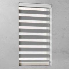 Pure Living - Duo Rolgordijn Lichtdoorlatend - 70x175 cm - Grijs