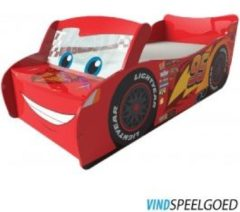 Rode Worlds Apart Disney Cars - Lightning McQueen autobed met Led -170x77x54 cm