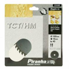 Skil BLACK+DECKER Piranha Sägeblatt für Kreissäge, TCT/HM 160x16 mm K40 X13105-XJ