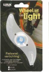 Luux Fietsverlichting in je wiel - Blauw - Wheel of led light