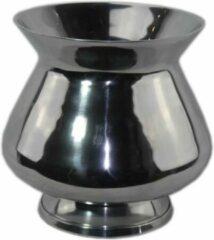 Zilveren Sense Aluminium vazen - Bloemvaas - Vaas gepolijst - Bloempotten - Vensterbank vaas- boeket vaas