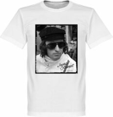Retake Jackie Stewart Portrait T-Shirt - Wit - XS