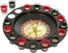 Drinking Roulette - Shot Roulette - Drankspel - Shotjes - Shotjes Roulette - 16 Shot Glazen - Party spel - Gezelschapsspel - Feest spel - Daily Playground