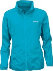 Pro X elements Pro-X Elements - Opbergbare regenjas voor dames - LADY PACKable - Neon turquoise - maat 36EU