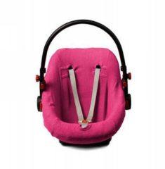 ISI Mini Briljant Baby - Autostoelhoes badstof - maat 0+ fuchsia