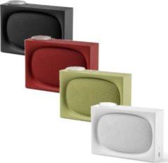 Lexon ONA, AM/FM Radio und wiederaufladbarer 4.0 BT-Lautsprecher, versch. Farben Farbe: Rot