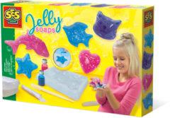 SES Creative jelly zeepjes 30 x 20 cm multicolor