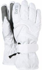 Witte Barts Goedkoopste Basic Ski dames vinger handschoenen