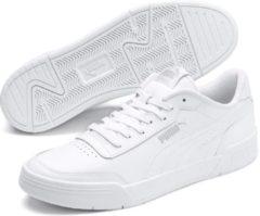 Zilveren PUMA Caracal Unisex Sneakers - Puma White-Puma Silver - Maat 41