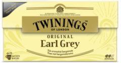 Twinings Earl grey envelop zwart 25 Stuks